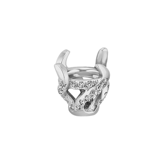 Diamond Arielle Head to Hold up to 1.50 ct. Round Stone