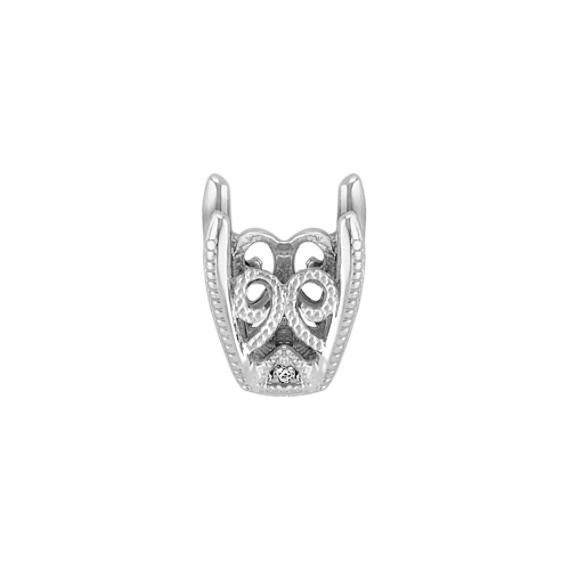 Tatiana Head to Hold up to 1.00 ct. Round Stone