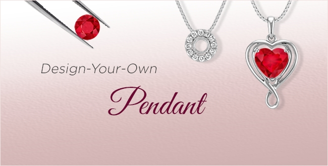 Design Your Own Ruby Pendants