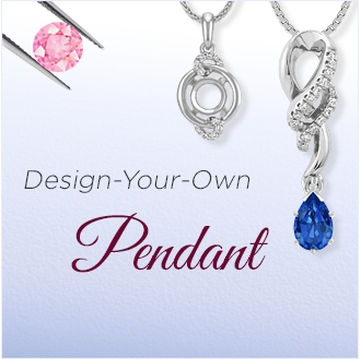 Design Your Own Sapphire Pendants