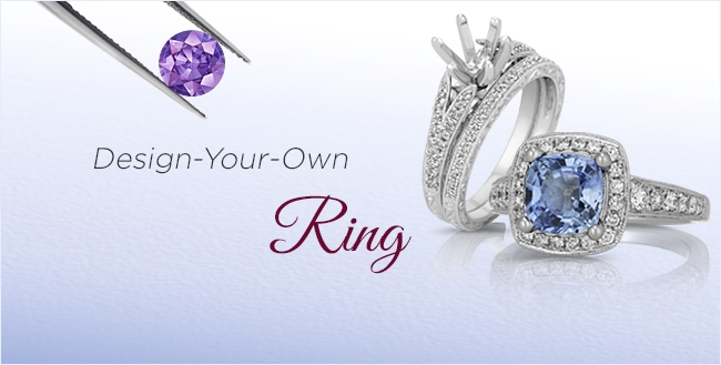 Design Your Own Sapphire Rings
