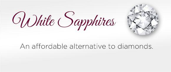 Shop White Sapphire Jewelry