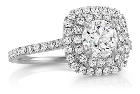 Halo Encircle Your Center Stone With Diamonds
