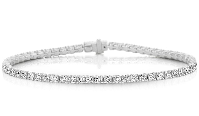 Image of a diamond bracelet
