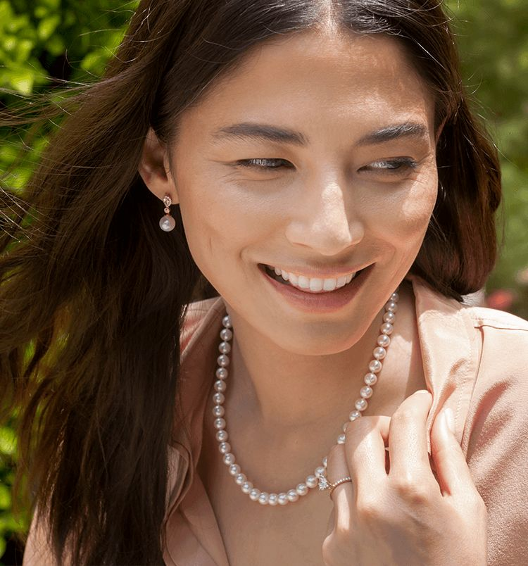 7fd70379f1616 Pearl Earrings | Pearl Necklaces| Pearl Rings & Jewelry at Shane Co.