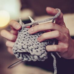 Knitting Favorite Activity Option