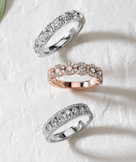 Sparkling Wedding Bands