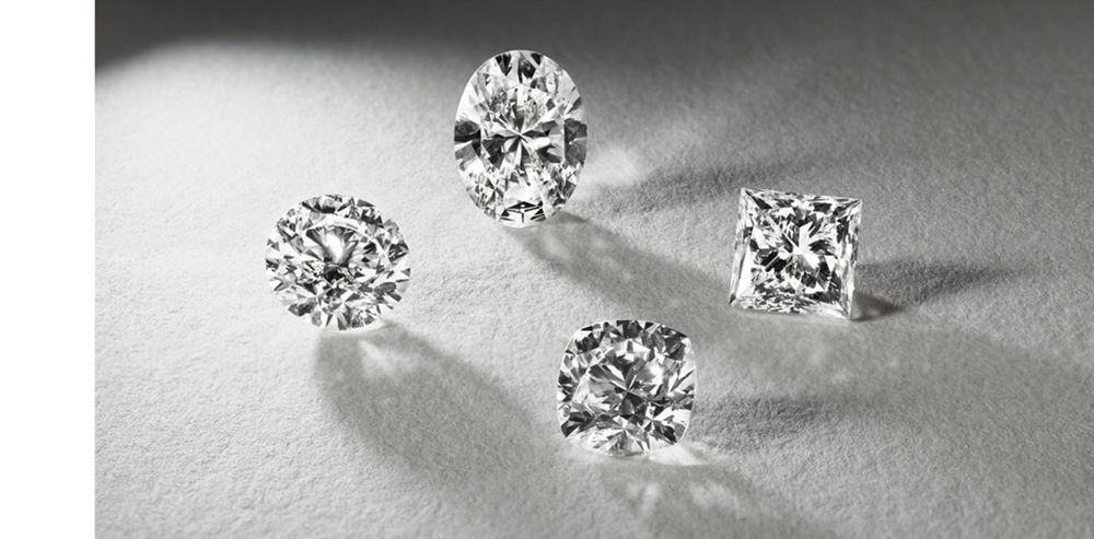 Round, Oval, Princess, and Cushion Cut Loose Diamonds