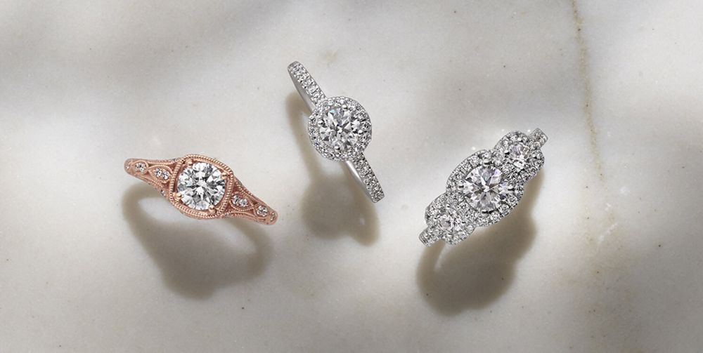 Perfectly Preset Engagement Rings