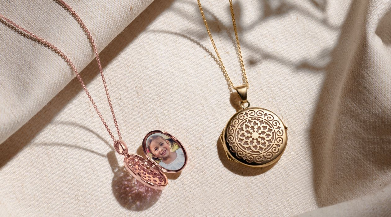 A pair of lockets