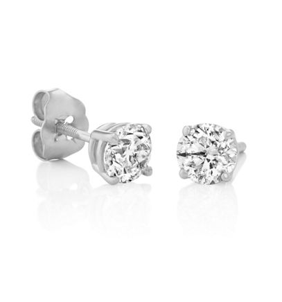 Round Diamonds in White Gold image