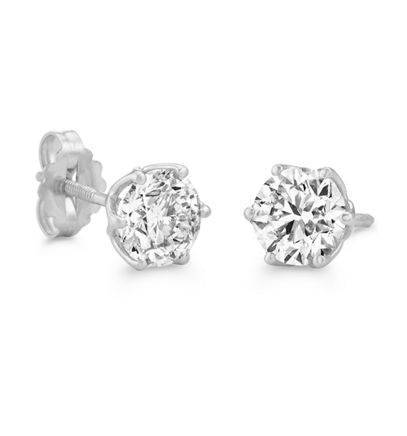 Round Shane Classic® Diamonds in Platinum image