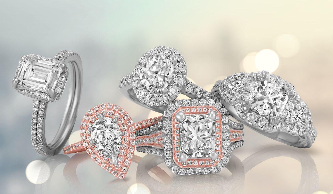engagement rings - wedding rings - shane co.