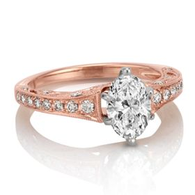 Channel-Set Engagement Rings