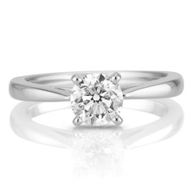 engagement rings diamond cut