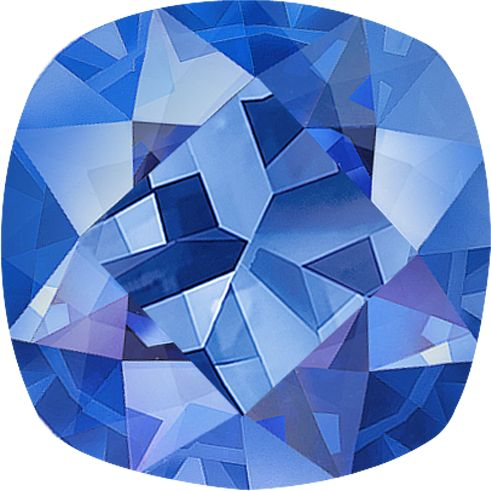 Square Cushion Cut Kentucky Blue Sapphire