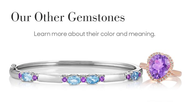Mobile Image of A gemstone bracelet and fashion ring