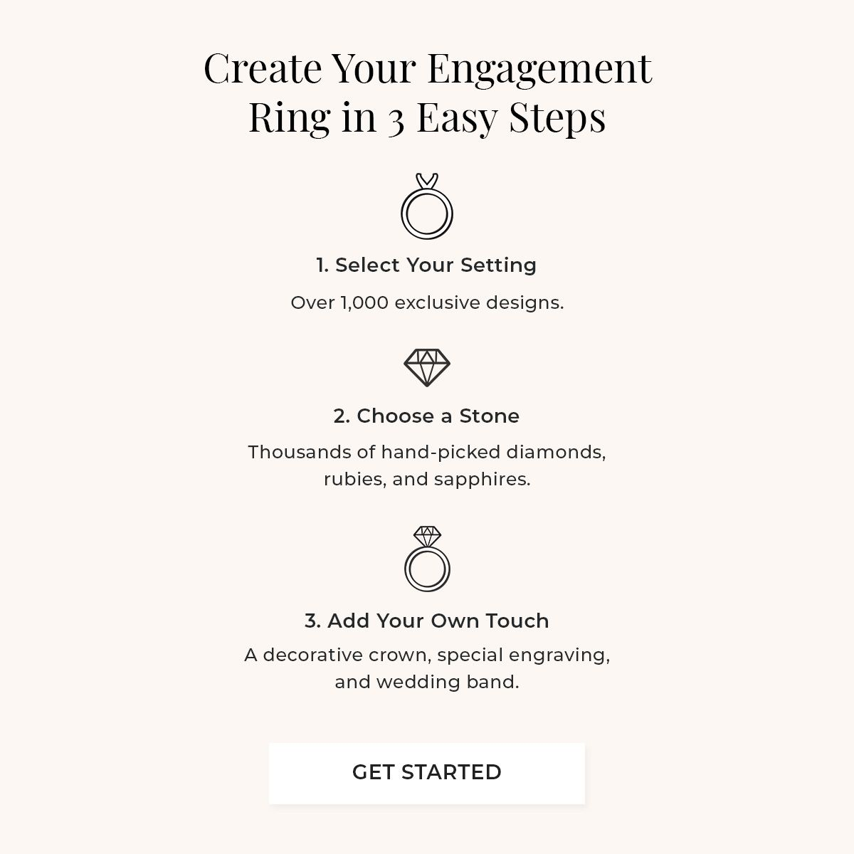 3 Steps to Build Your Dream Ring