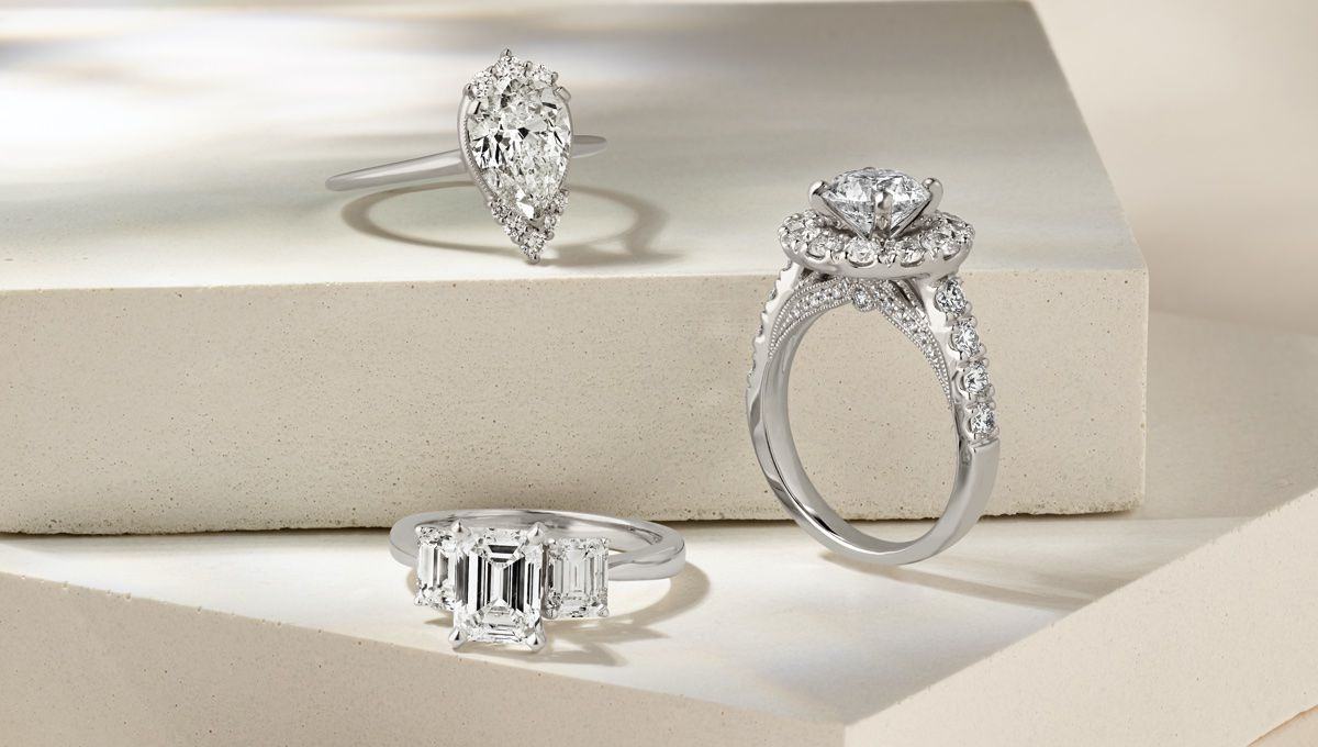 Mobile image for Engagement Rings in Different Styles