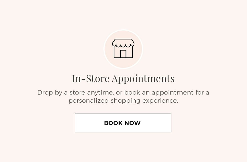 Mobile Image for Booking an In-Store Appointment