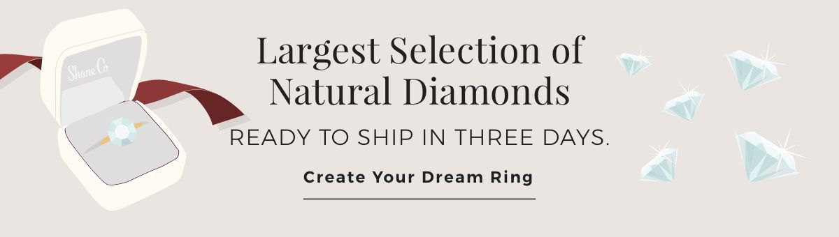 Mobile Image of Largest Selection of Natural Diamonds
