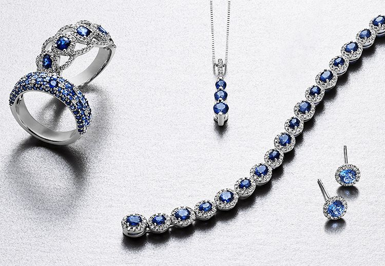 5d2d2ea5b Shop Sapphire Rings, Necklaces & Sapphire Earrings at Shane Co.