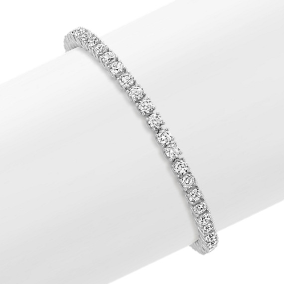 Diamond Tennis Bracelet in 14k White Gold (7 in.)