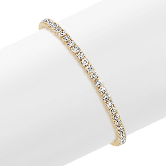 Diamond Tennis Bracelet in 14k Yellow Gold (7 in.)