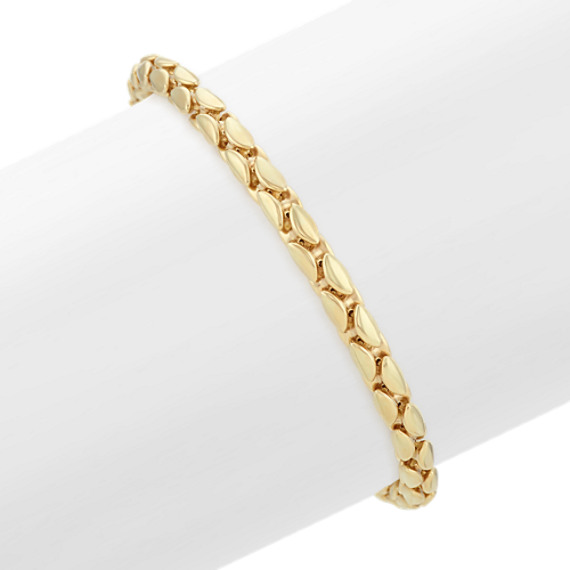 14k Yellow Gold Bracelet (7.5 in)