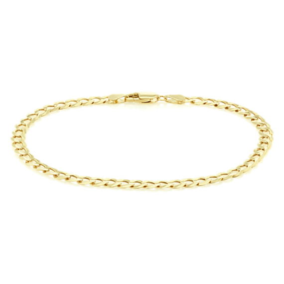 14k Yellow gold Curb Bracelet (8.5 in.) image