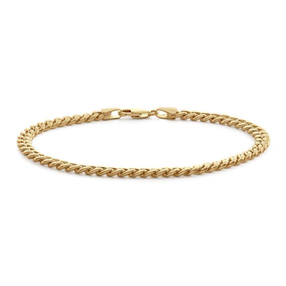 Miami Cuban Bracelet in 14k Yellow Gold (7.5 in)