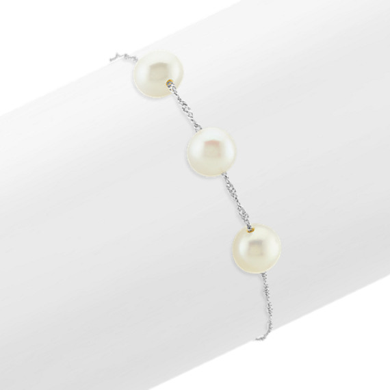 7.5mm Cultured Freshwater Pearl Bracelet (7.5 in)