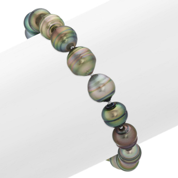 9mm Cultured Tahitian Pearl Bracelet (8 in)