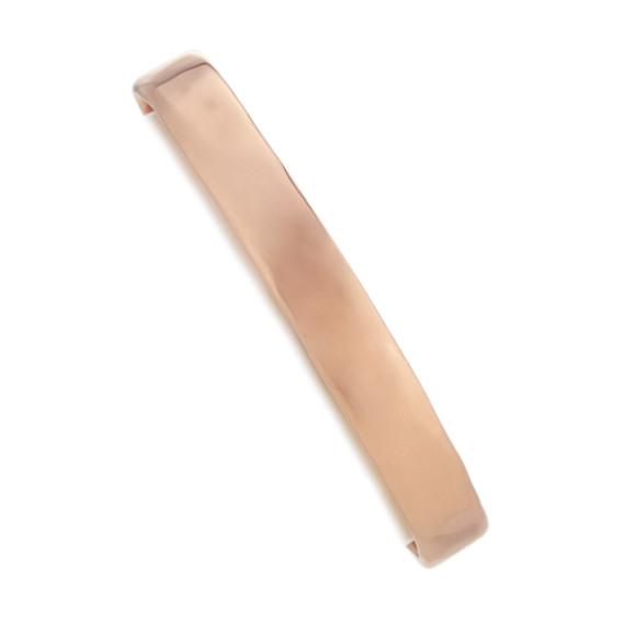 Cuff Bracelet in Rose Sterling Silver (7 in)