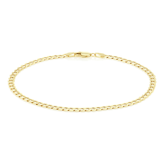Diamond Cut Curb Bracelet (8.5 in.) image