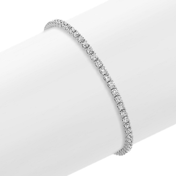 Diamond Tennis Bracelet in 14k White Gold (8 in.)