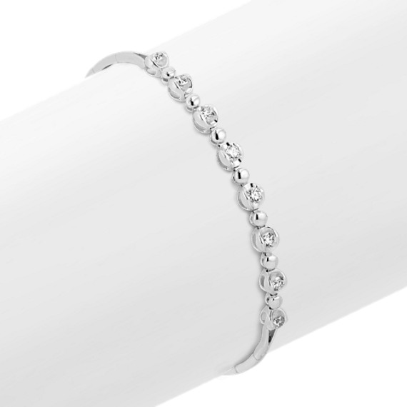 Round Diamond Bracelet (7 in)