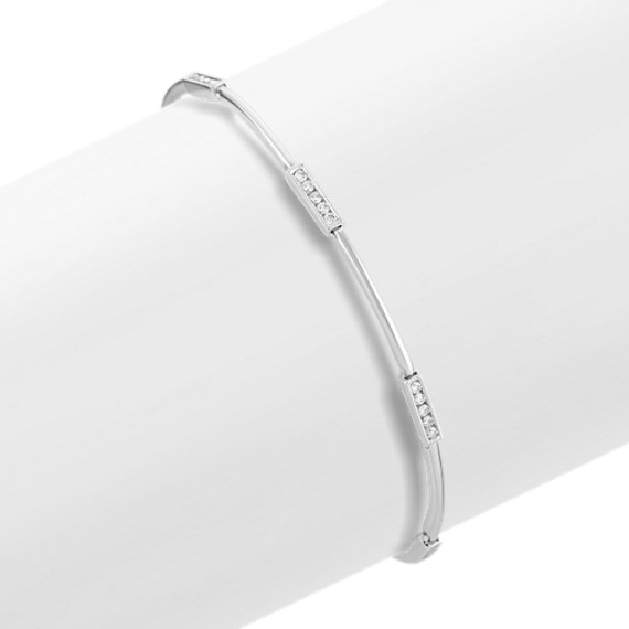 Round Diamond Bracelet (7.25 in)