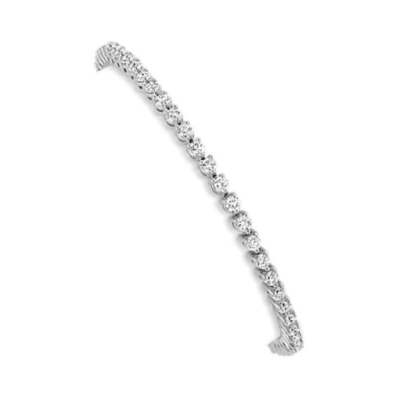 Round Diamond Tennis Bracelet (7.25 in)