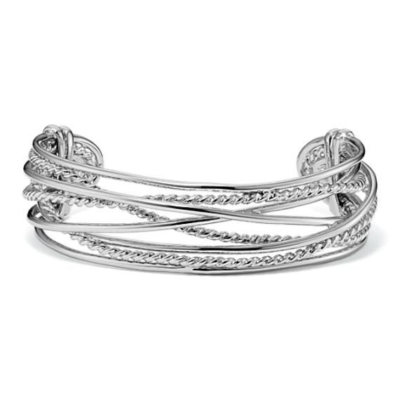 Sterling Silver Cuff Bracelet (7 in.)
