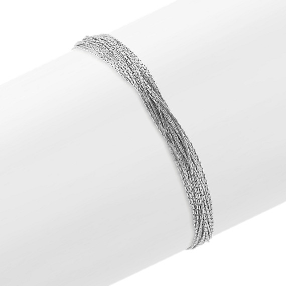 Sterling Silver Layered Bracelet (7 in.)