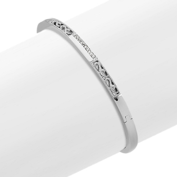 bangles diamond has and lovely excelent of quality is very sterling cz with p wide czs gold cuff high bangle bracelet cm silver studded bracelets finish comparable which made gleam