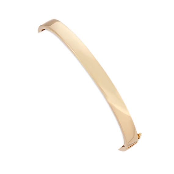 Wide Bangle Bracelet (7 in)