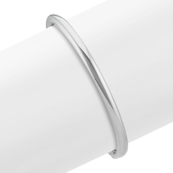 Sterling Silver Bangle Bracelet (7 in)