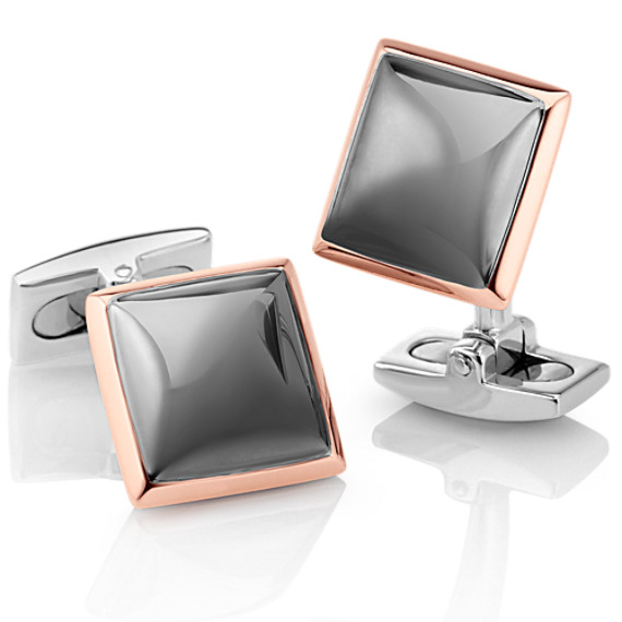 Classic Square Cuff Links image