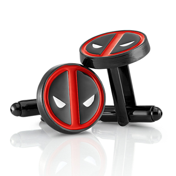Deadpool by Marvel Comics Stainless Steel Cuff Links image