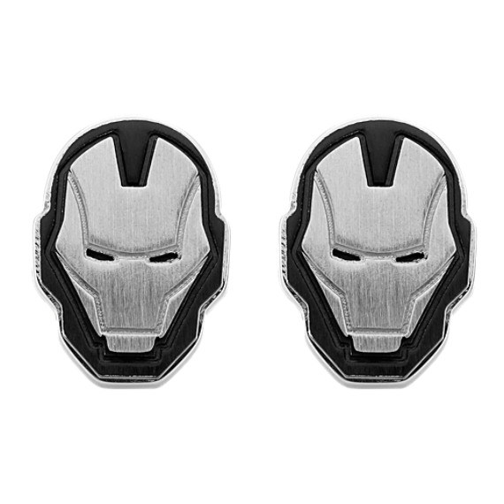 Iron Man by Marvel Comics Stainless Steel Cuff Links