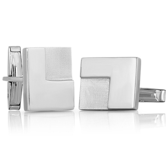 Sterling Silver Cuff Links image
