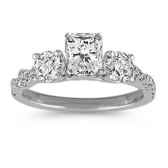 2bb9130a1ccb0 View Shane Co.'s Beautiful Selection of Three-Stone Engagement Rings