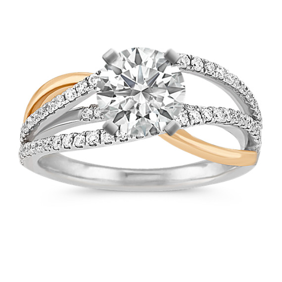 halo tiered diamond ring p shane tap wedding zoom two rings to engagement thumbnail round co